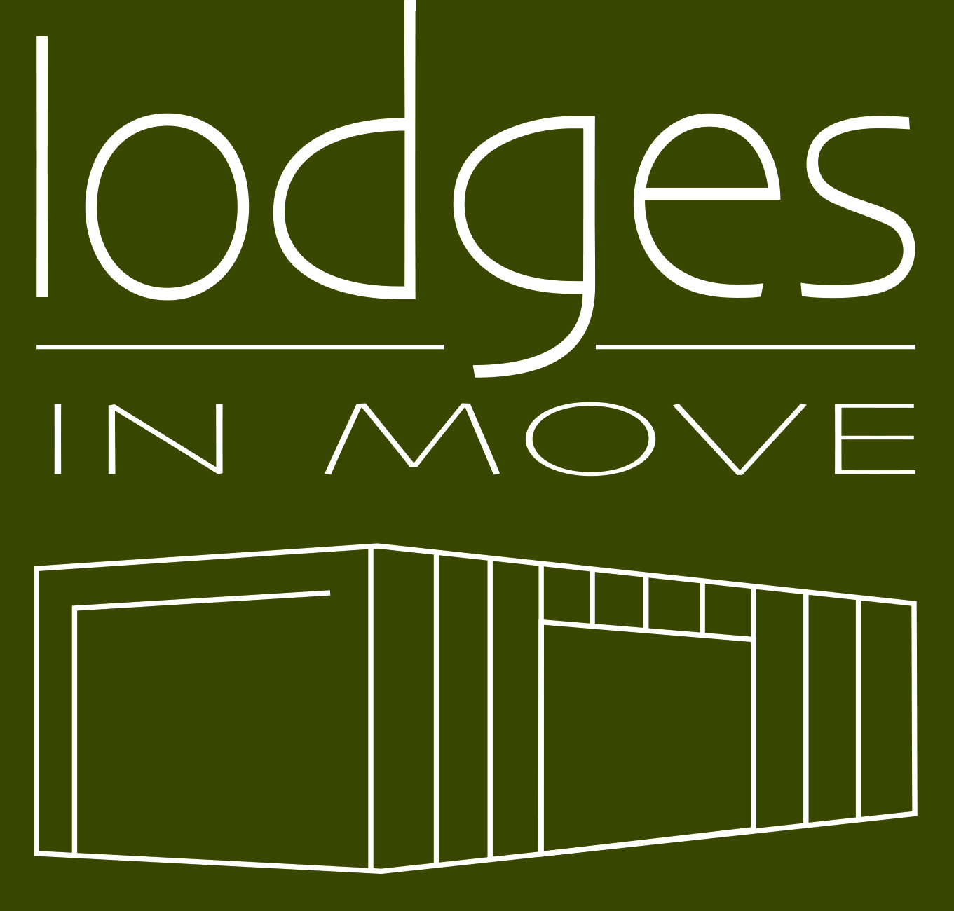 logo lodges in move