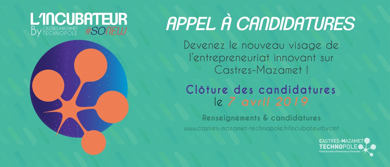 Incubateur by CMT candidatures
